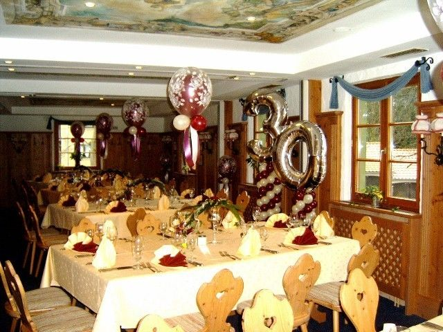 Ballonmobil hochzeit for Geburtstagsdekoration