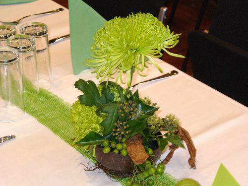 Beispiel: Tischschmuck, Foto: die kornblume.