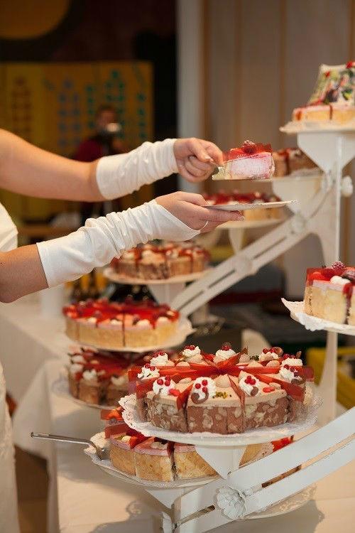 Beispiel: Hochzeitstorte, Foto: WeddingPlan Graubünden.