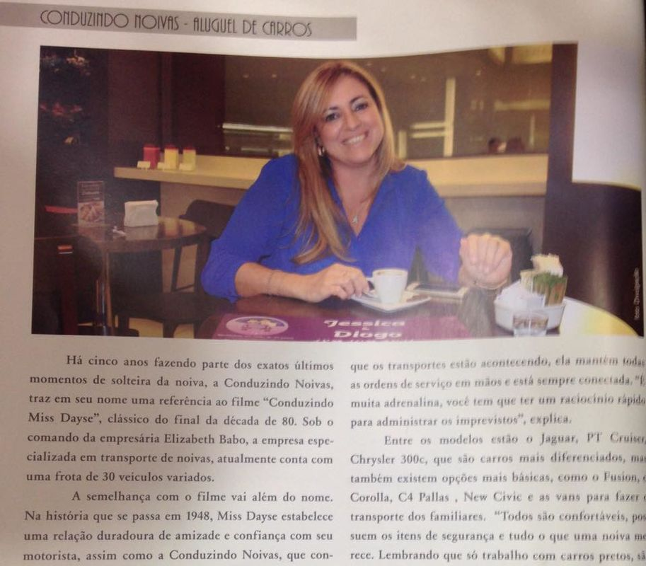 Entrevista para a Revista Festejar Noivas RJ