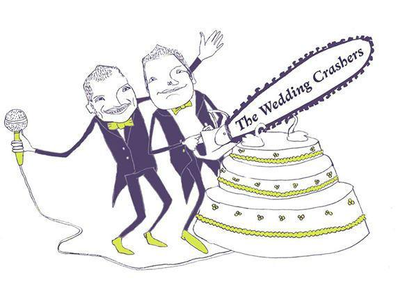 Beispiel: Das Logo der Wedding Crasher, Foto: The Wedding Crashers.
