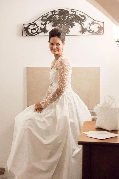 Beispiel: Traumhafte Kleider, Foto: Susanne Spatt Salzburg.