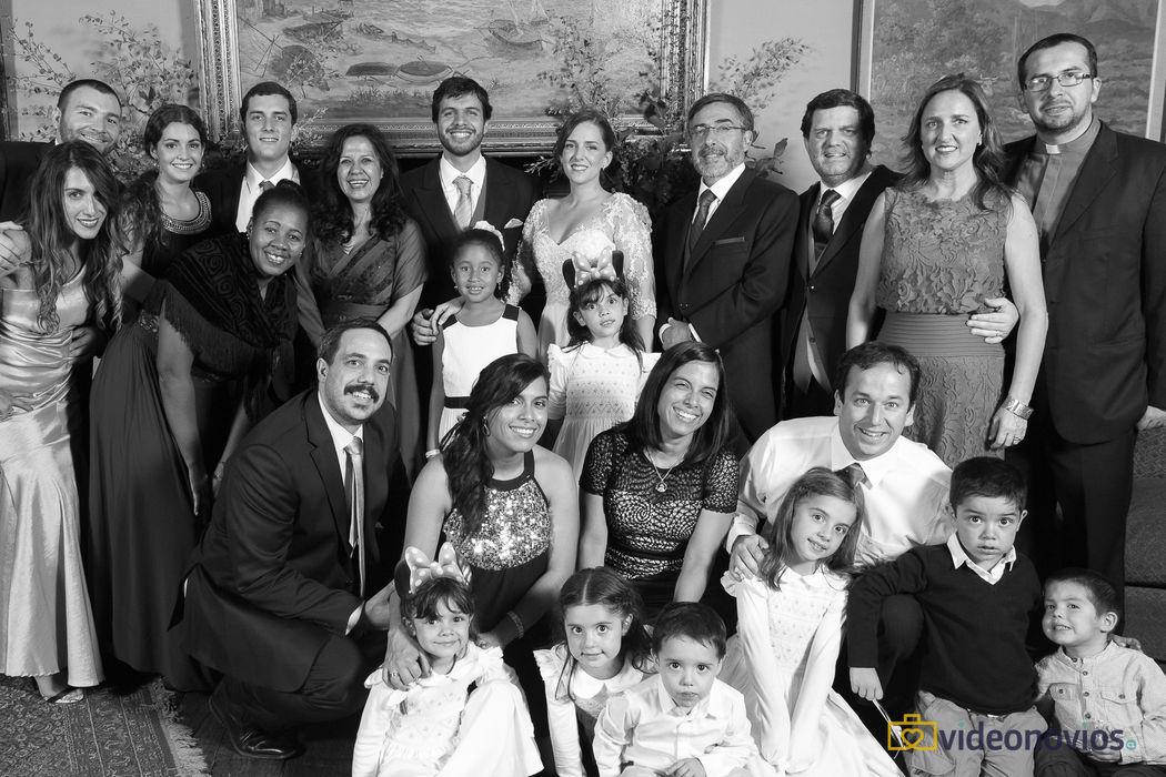 Familiar grupal  - Sesión novios