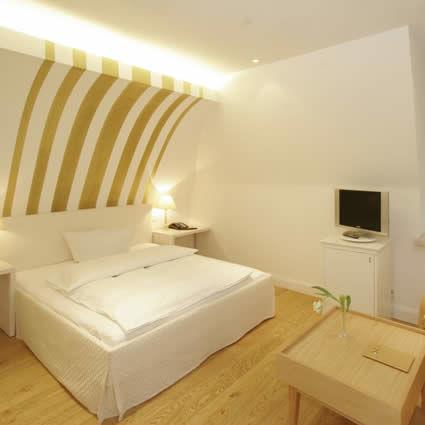Beispiel: Zimmer, Foto: Landhaus am See.