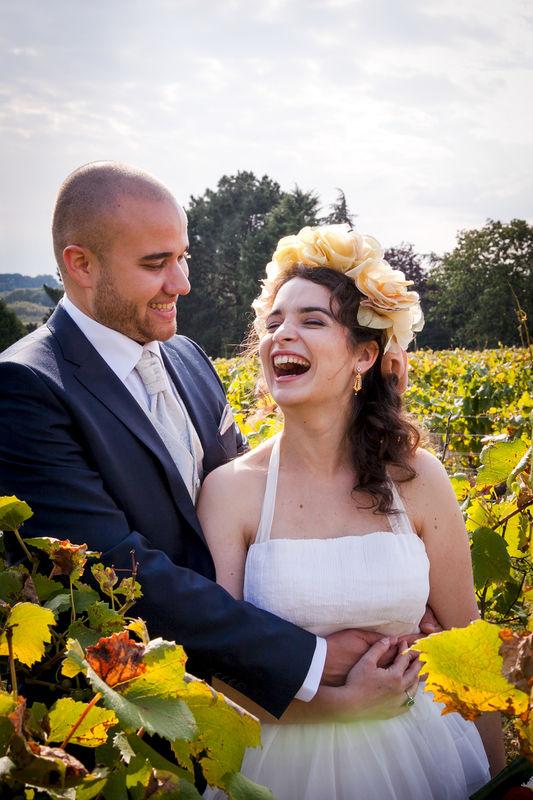 photographe nantes vigne pays de la loire mariés mariage couple