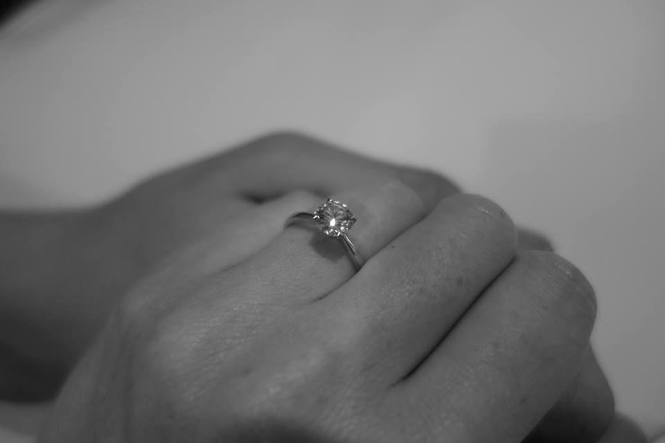 Beispiel: Verlobungsring, Foto: Seventy Seven Diamonds