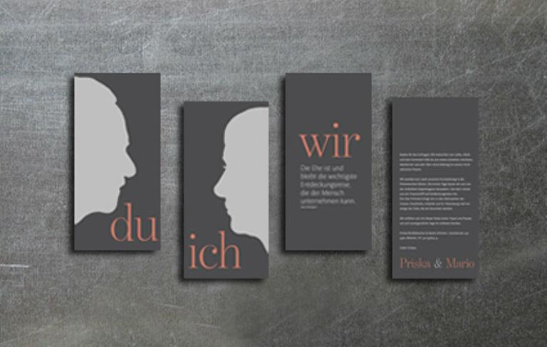 Beispiel: Kartenset ich-du-wir, Foto: tellme.