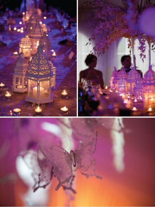 décoration mariage oriental chic