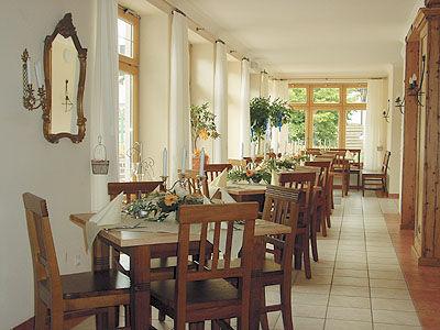 Beispiel: Wintergarten, Foto: Landgasthof Reisinger.
