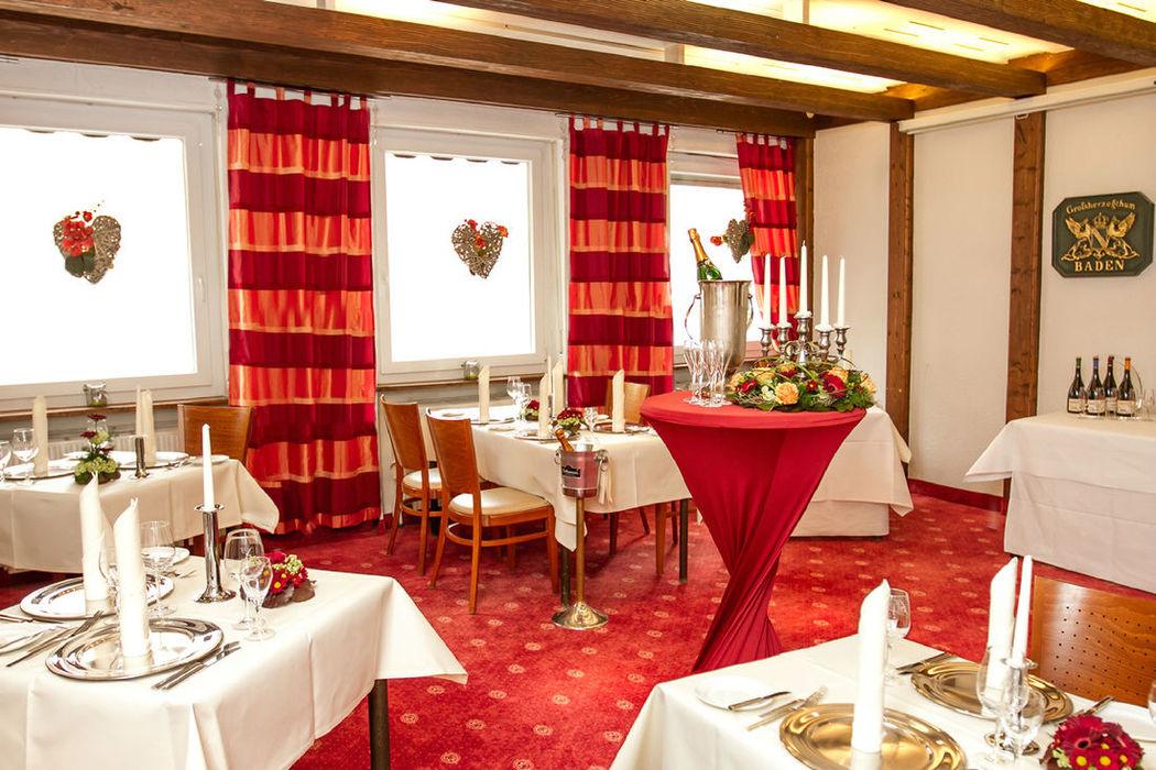 Beispiel: Badische Stube, Foto: Hotel Eden - Restaurant garbo.
