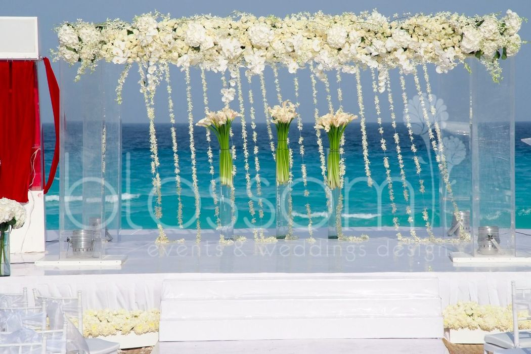 Exclusivo gazebo para Boda Judia de lujo.  Exclusive Jewish wedding