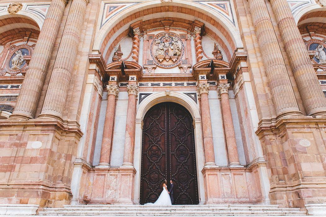 Boda en la Catedral de Málaga