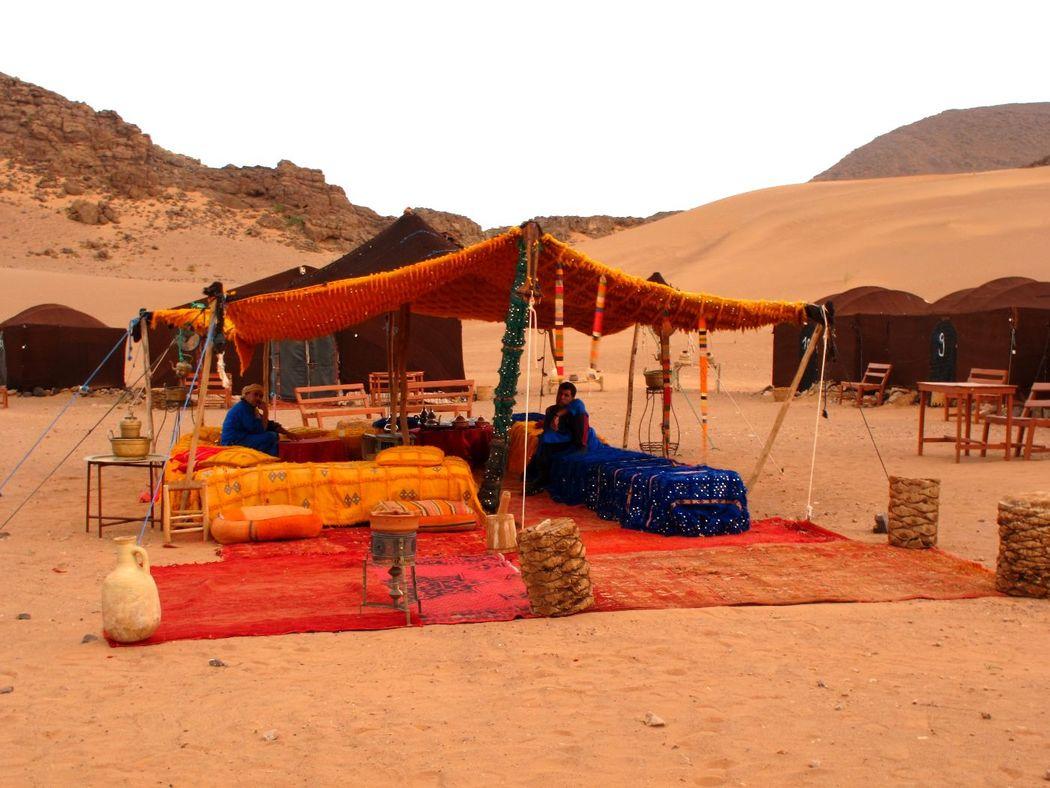 Entre Oasis, gargantas y valles noches en el Desierto de Zagora