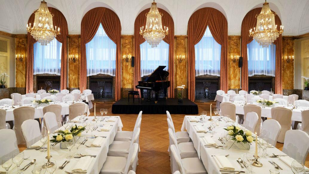 Beispiel: Richard Wagner Saal, Foto: Le Méridien Gran Hotel Nürnberg.