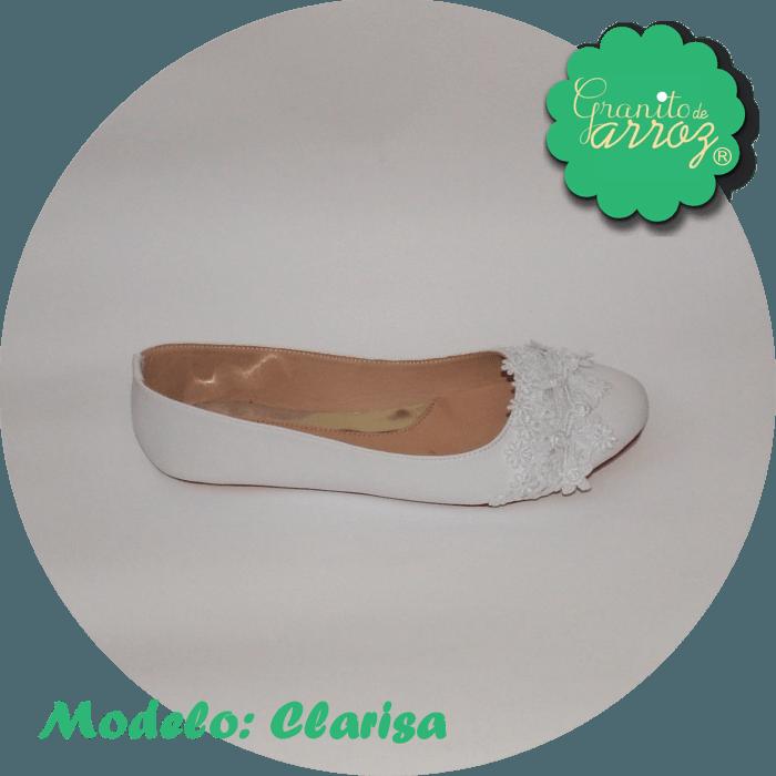 Modelo Clarisa/  color blanco