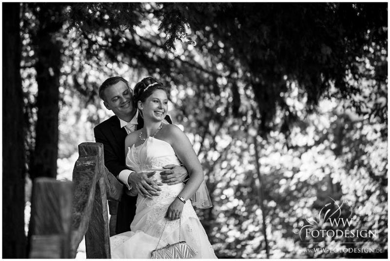 Beispiel: Portrait des Brautpaares, Foto: WW Fotodesign.