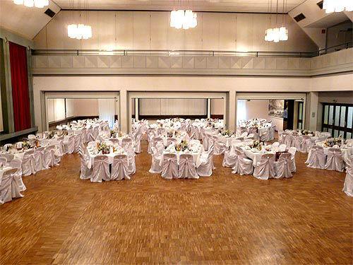 Beispiel: Räumlichkeiten, Foto: Sängerhalle Untertürkheim.