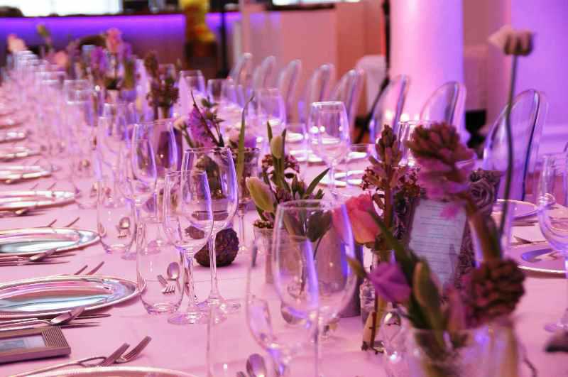 Beispiel: Hochzeitstafel, Foto: Lux & Lauris.