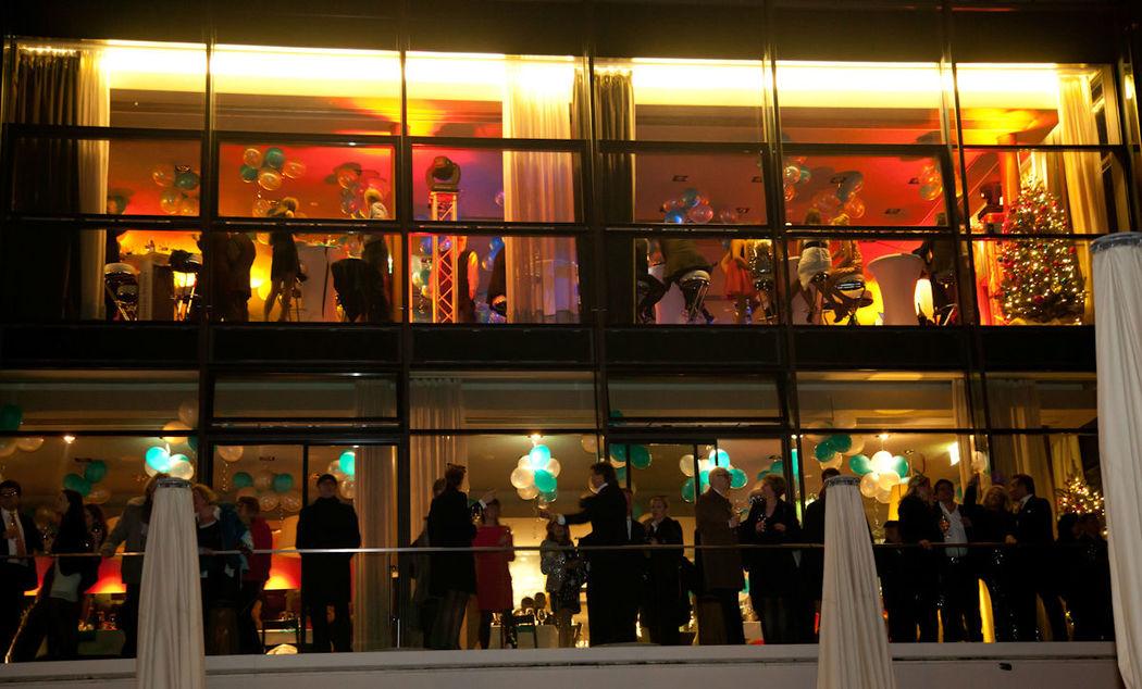Beispiel: Abendveranstaltung im Mainnizza, Foto: Mainnizza.