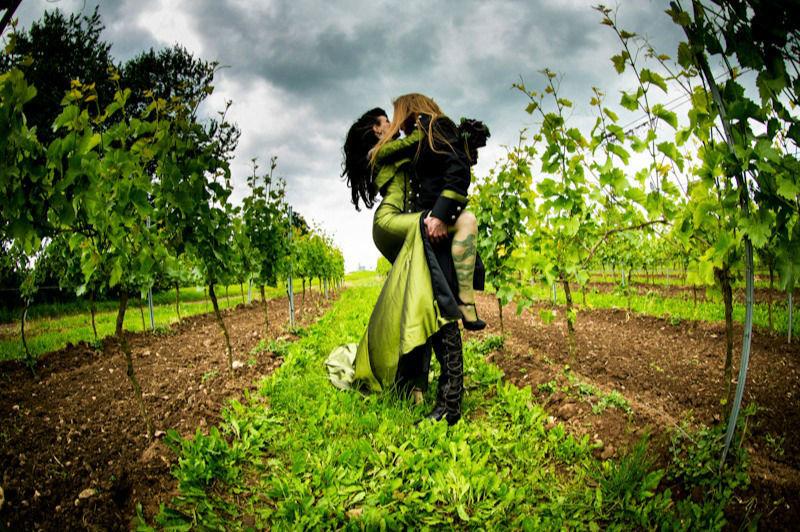 Beispiel: Romantische Hochzeitsfotos, Foto: Licht Film.