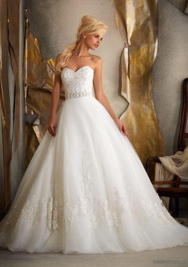 Suknia ślubna 2013 Mori Lee