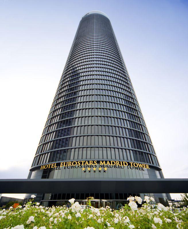 Fachada Eurostars Madrid Tower