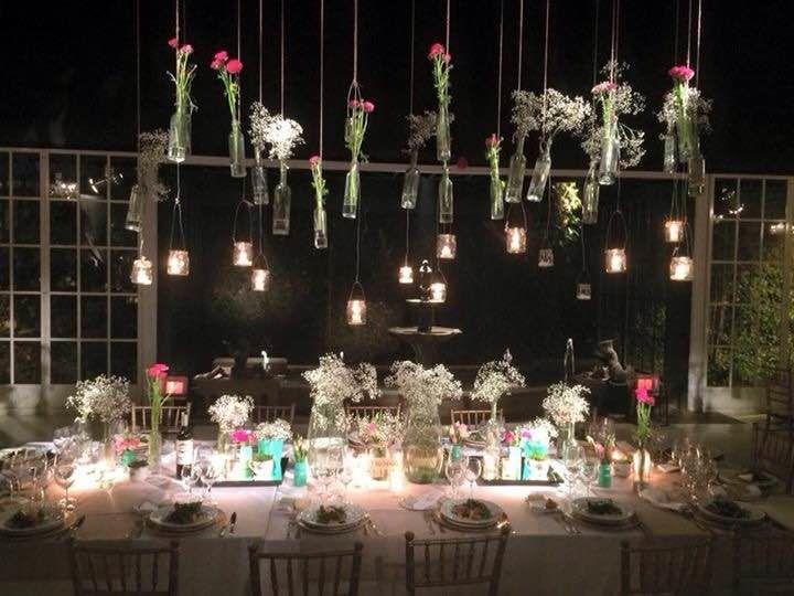 Mesa de novios, Matrimonio Casa Almarza
