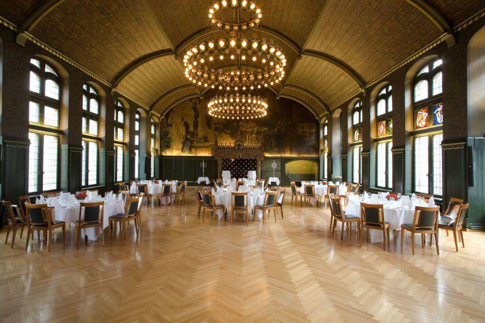 Beispiel: Festsaal, Foto: Safran Zunft.