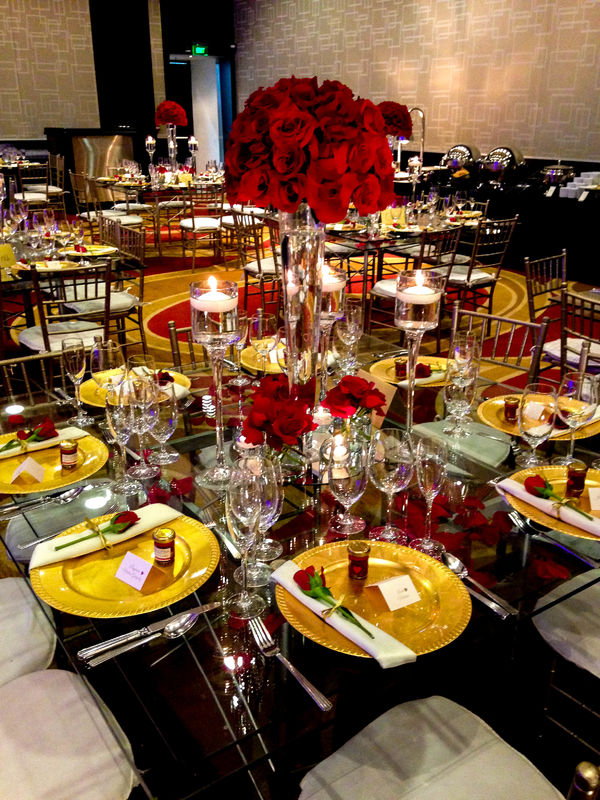 Centro de mesa elegante