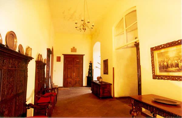 Beispiel: Empfangshalle, Foto: Schloss Gemünden.
