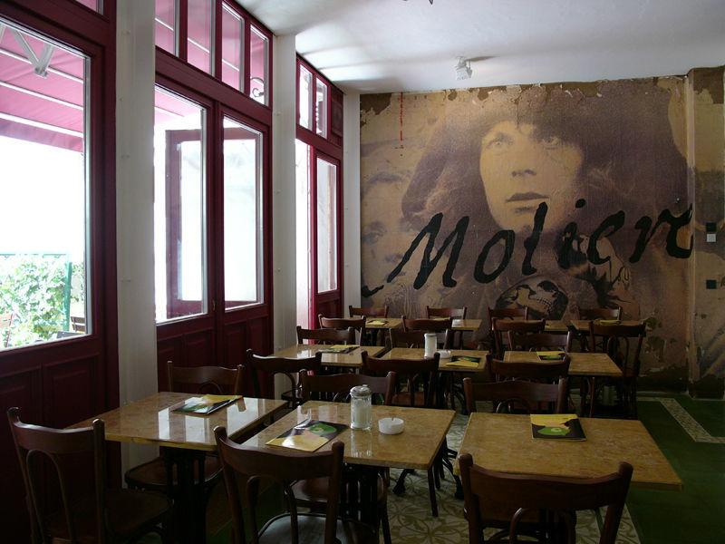 Beispiel: Restaurant und Café, Foto: Orphée.