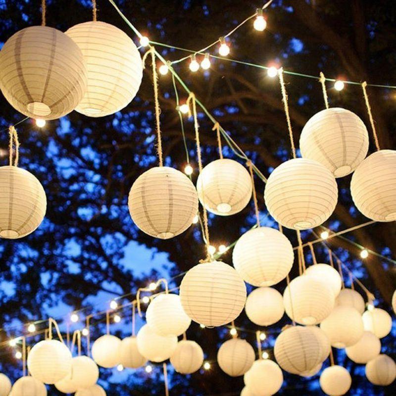 Décor de Luzes e Balões Arraial