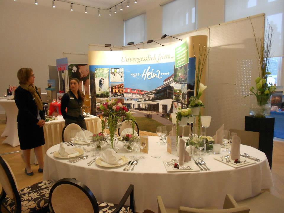 Beispiel: Messeausstellung, Foto: Hotel Heinz.