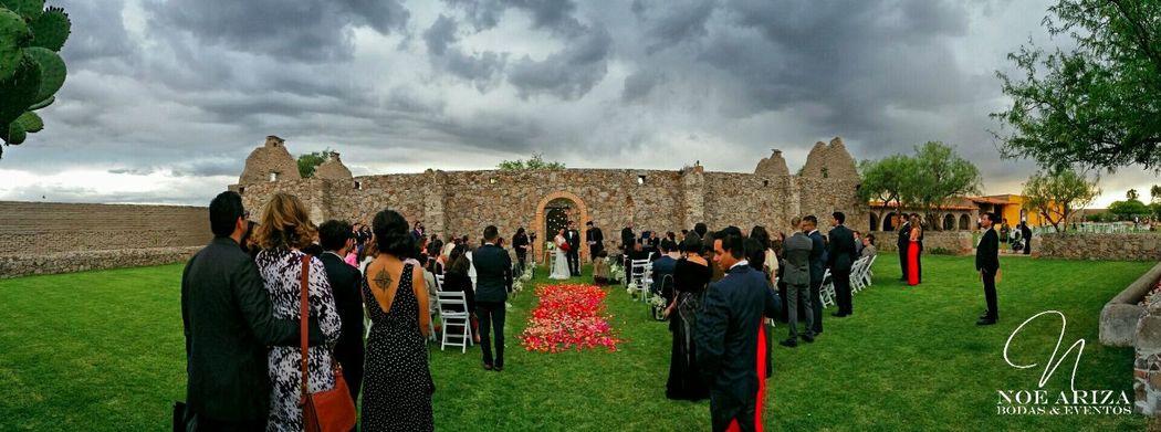 Boda de la actriz Damayanti Quintanar y el director de cine Joe Rendón  Wedding Destination Zacatecas, México. Marzo 2015