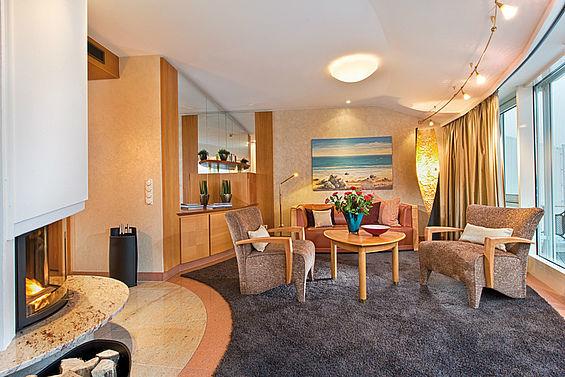 Beispiel: Penthouse-Suite, Foto: Travel Charme Strandhotel Bansin.