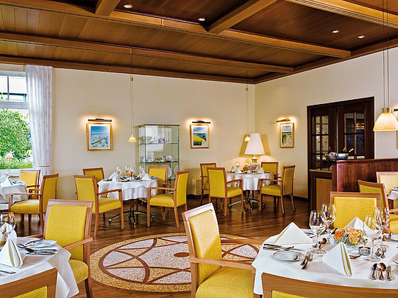 Beispiel: Restaurant, Foto: Travel Charme Ostseehotel Kühlungsborn.