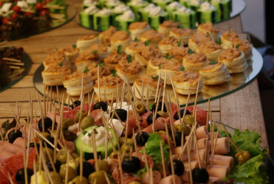 Cóctel de recepción  Banchetti Eventos