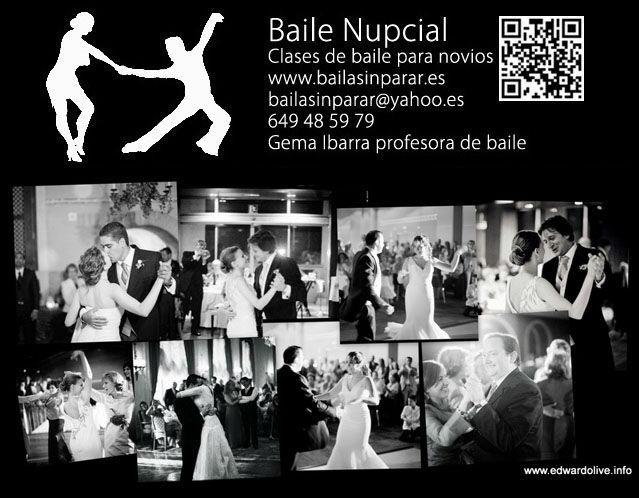 Clases particulares de baile para novios