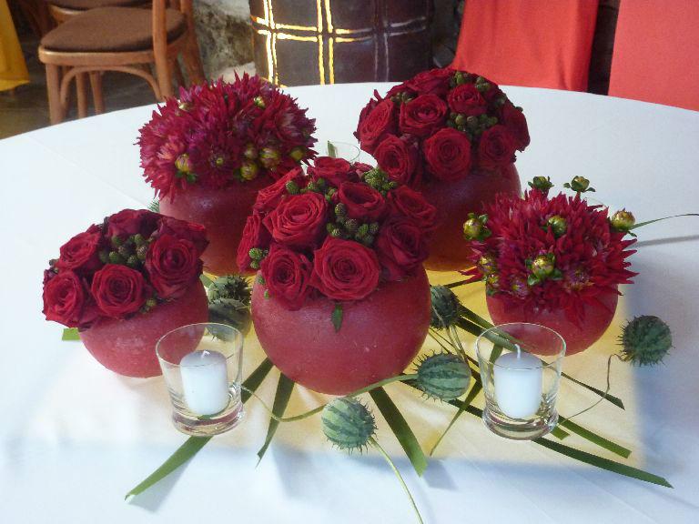Beispiel: Blumenschmuck für Ihre Hochzeit, Foto: Florastyle.