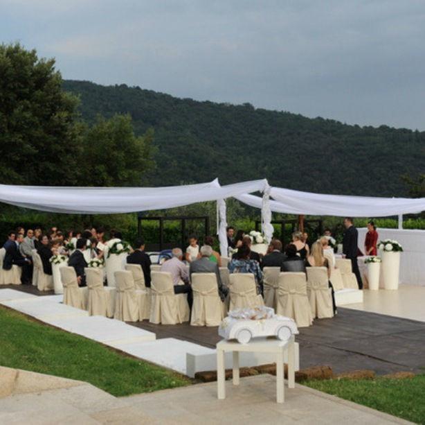 Rito Civile al Castello degli Angeli nel parco