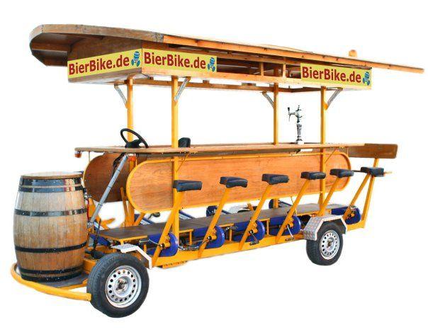 Beispiel: Das BierBike, Foto: BierBike Braunschweig.