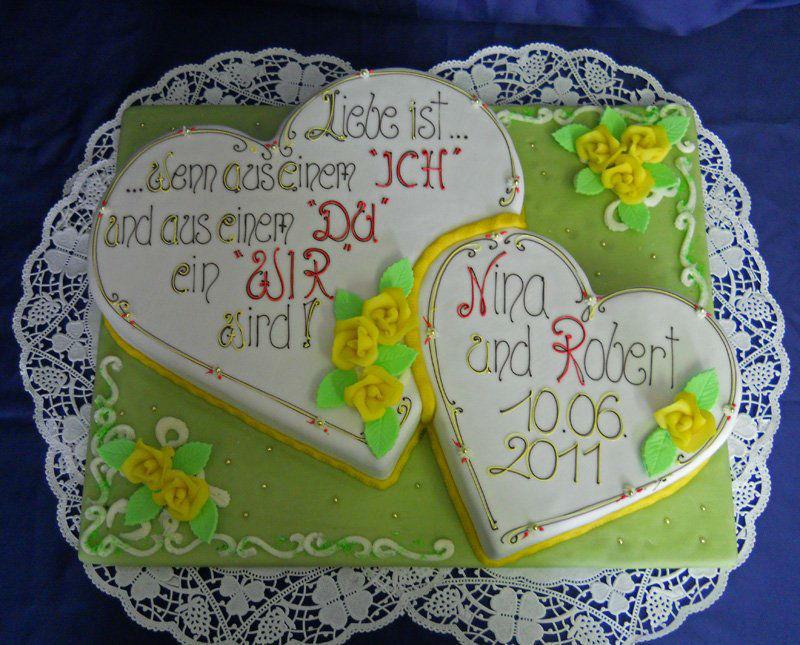 Beispiel: Ihre persönliche Torte, Foto: Torten Aigner.