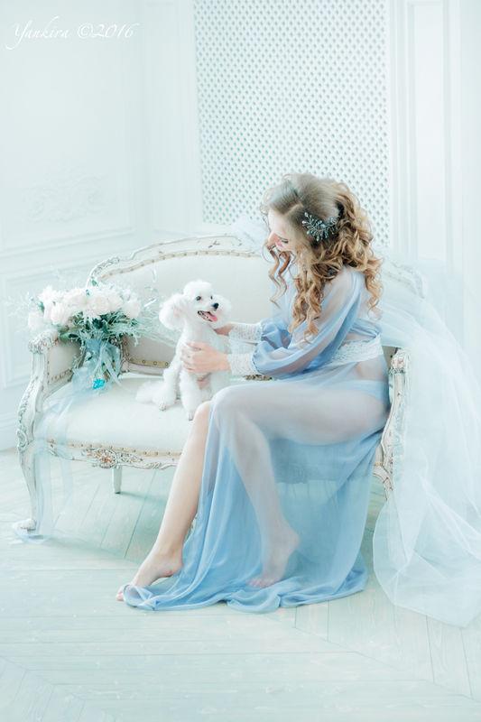 веточка невесты из горного хрусталя, граненых стеклянных бусин