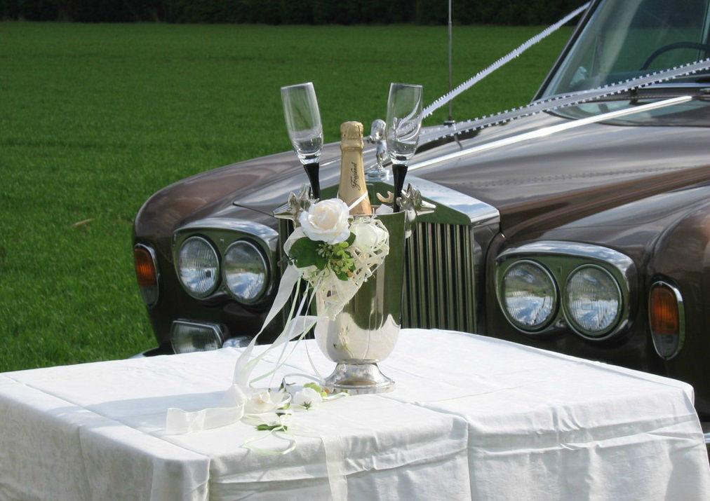 Beispiel: Das Auto für Ihren Hochzeitstag, Foto: Royal Chauffer.