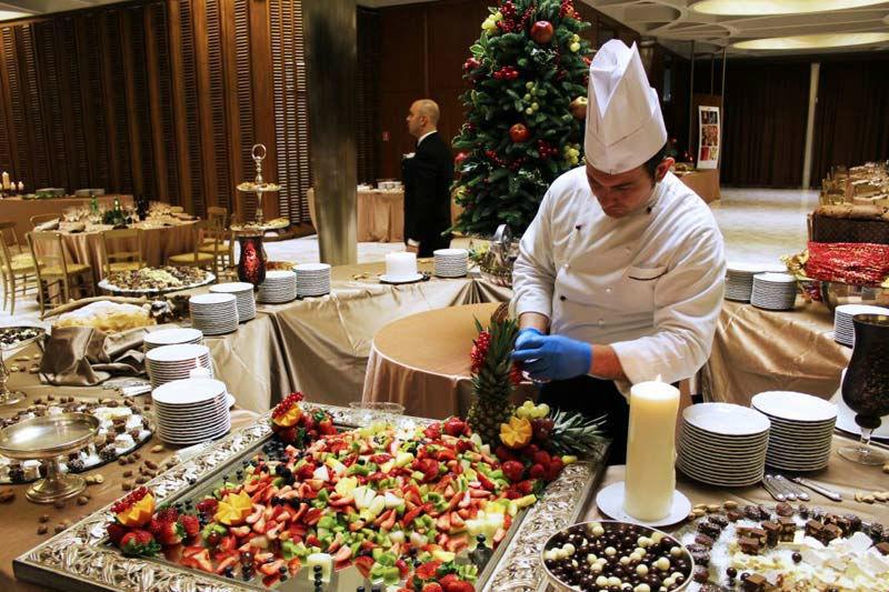 Beispiel: Freundlicher Service, Foto: Mario's Catering.