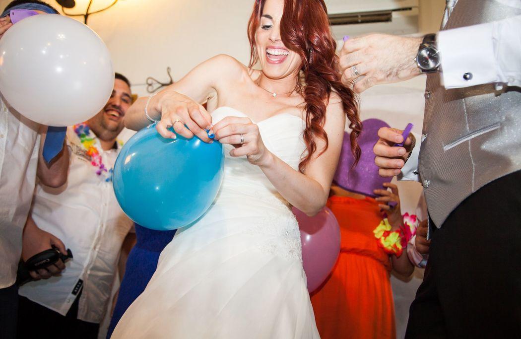 Un globo, dos globos, tres globos...