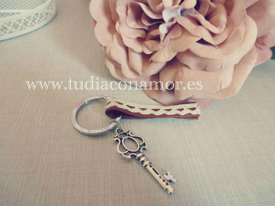Detalle llavero llave, regalo especial