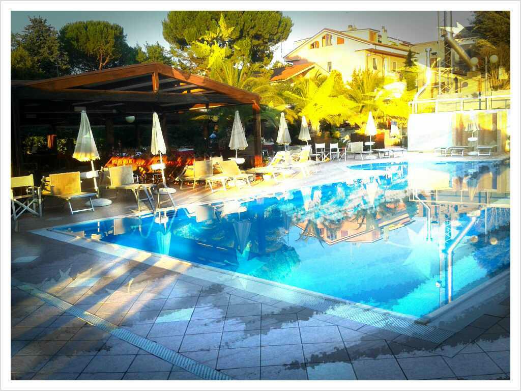 music swimming pool
