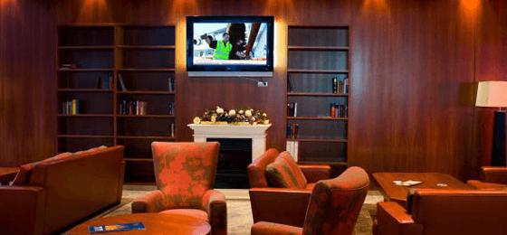 Beispiel: Lounge-Bereich, Foto: Grand Hotel La Strada.