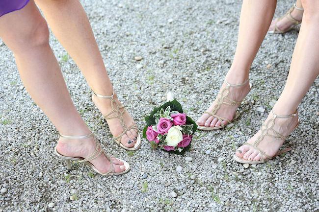 Beispiel: Brautstraußwerfen fehlgeschlagen, Foto: Most Special Wedding.